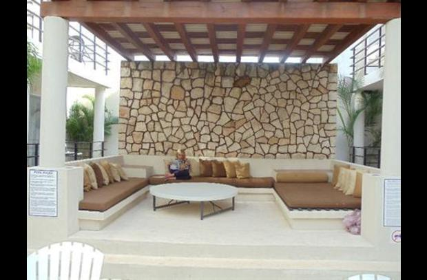 Lounge Area at Pool