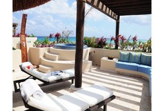 El Taj Oceanfront - Winner of Top 25 in Luxury in All of Mexico - Penthouse - 2nd from the front-3/2-Beach Club Promo #325