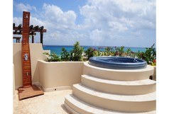 El Taj Oceanfront - Winner of Top 25 in Luxury in All of Mexico -Penthouse 2/2 Jacuzzi BBQ Beach Club Promo #320